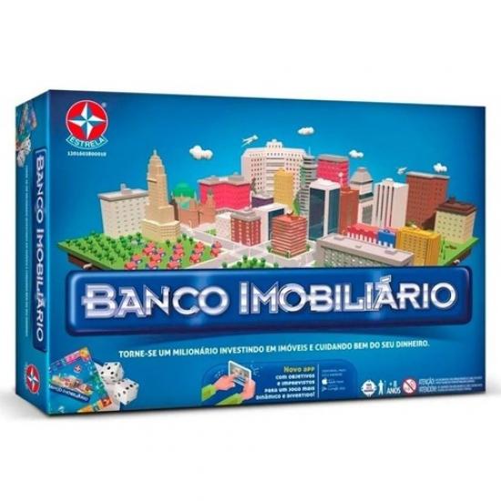 JOGO BANCO IMOBILIÁRIO COM APLICATIVO