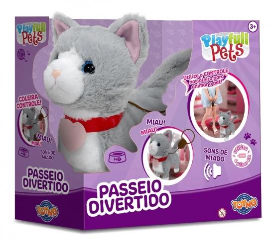 PASSEIO DIVERTIDO GATINHO