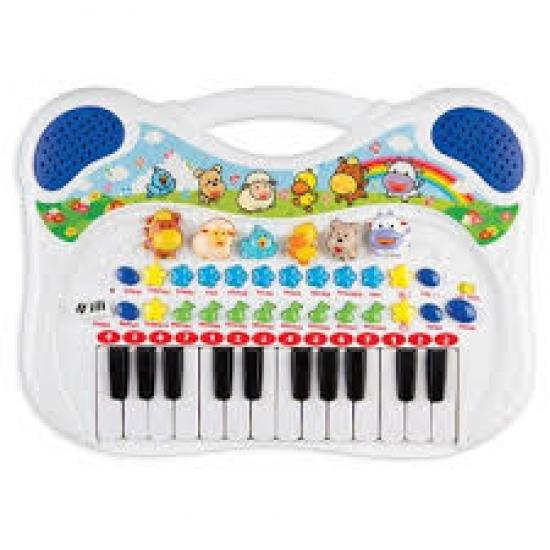 Piano Musical Azul