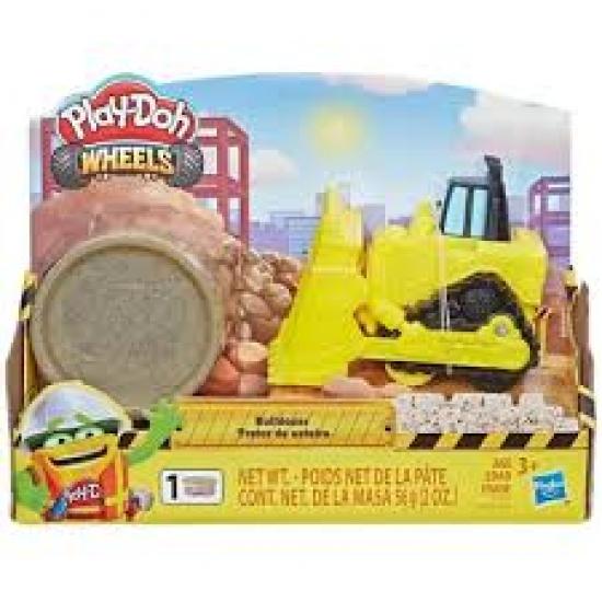 Play-Doh Wheels Trator De Esteira Amarelo - E4575 - Hasbro