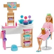 Playset Da Barbie Face Mask Dia De Spa