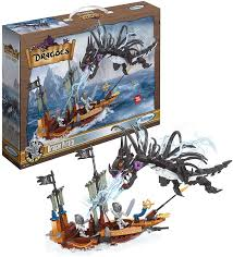 Blocos de Montar Dragao Pirata