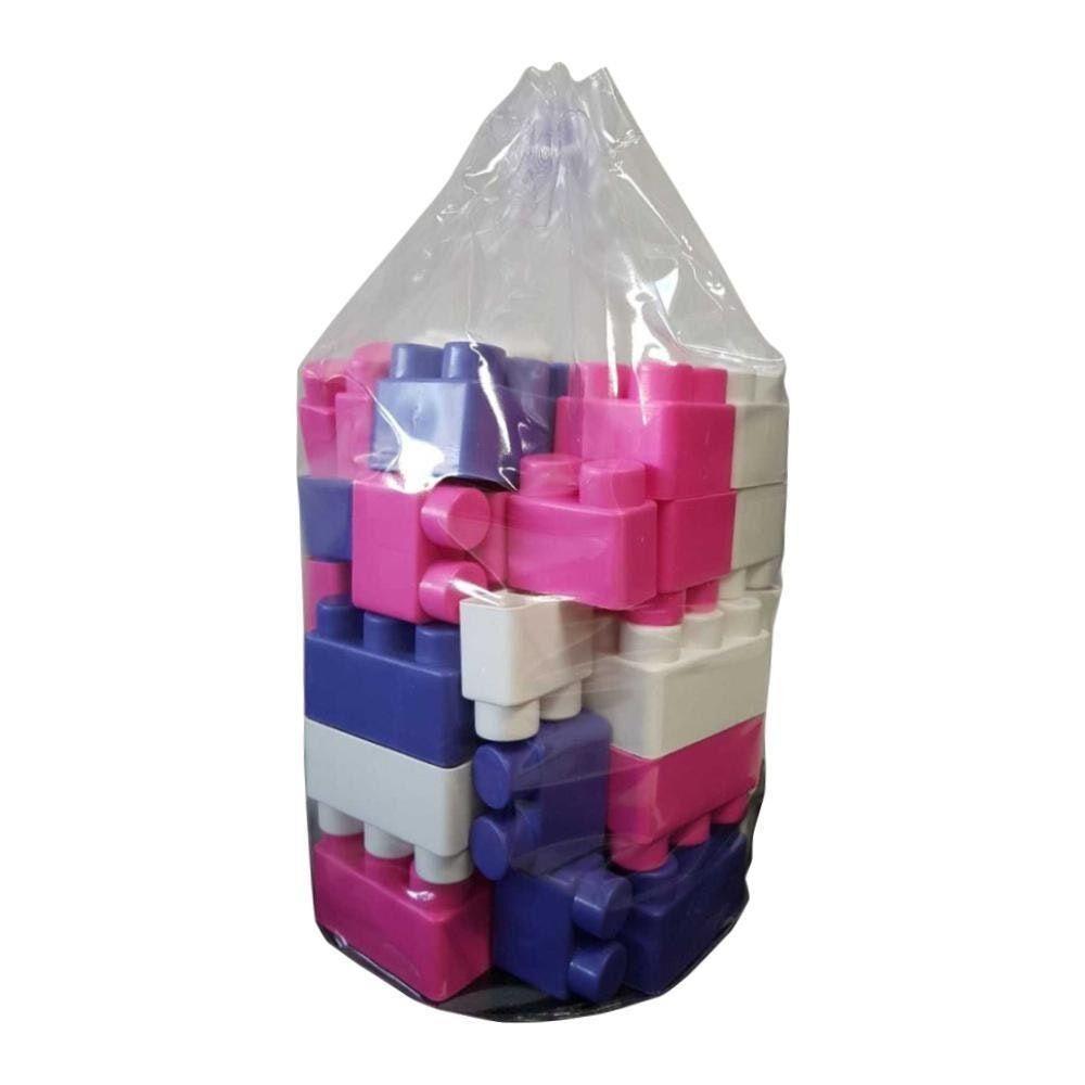 Blocos de Montar Magic Block Menina 45 peças