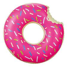 Boia Inflável Especial Gigante - Redonda Rosquinha Donut