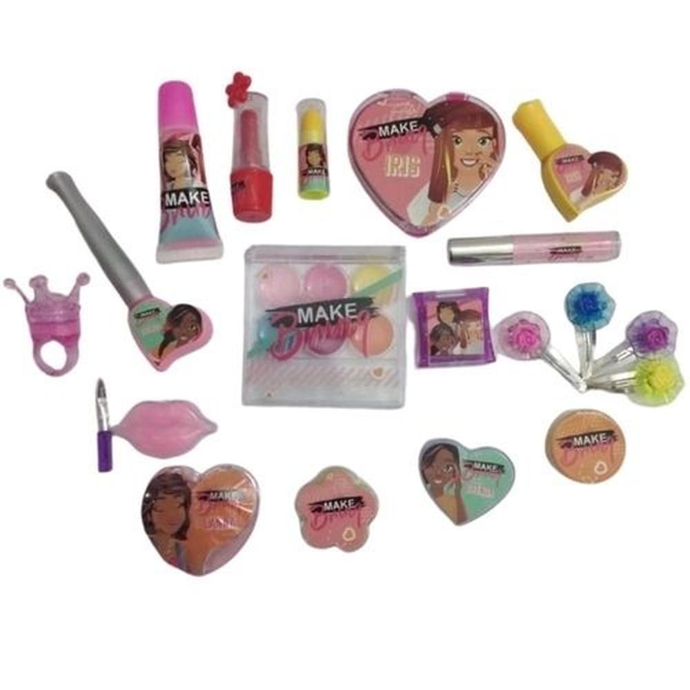 Bolsa Kit de Maquiagem Infantil - Polibrinq