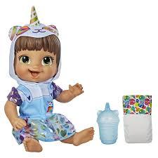 Boneca Baby Alive Tinycorn Bebê Panda Morena E9422