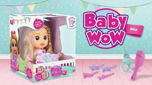 Boneca baby wow mia