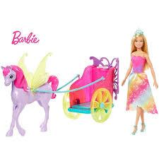 Boneca  Barbie Dreamtopia - Princesa Com Carruagem - Mattel