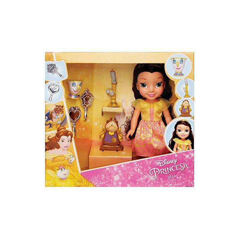 Boneca Disney Princesa Bela C/ Acessórios