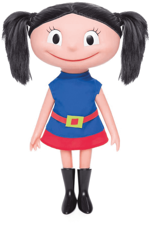 Boneca Luna Canta e Fala