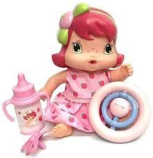 Boneca Moranguinho Baby Amiguinha Brinquedo Infantil