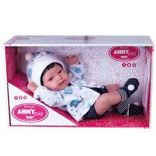 Boneco Anny Doll Baby Menino Reborn Cotiplás