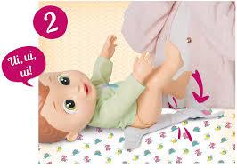 Boneco Baby Wee com Mamadeira e Faz Xixi
