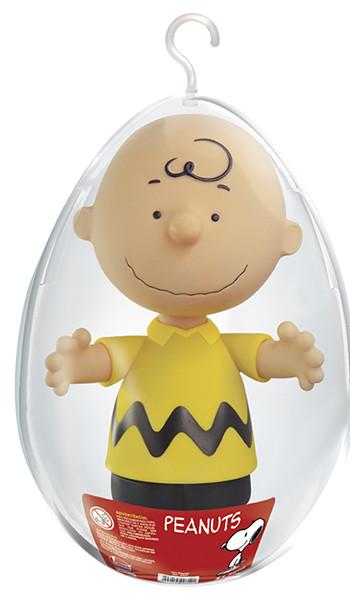 Boneco Charlie Brown No Ovo Coleção Peanuts Snoopy Lider