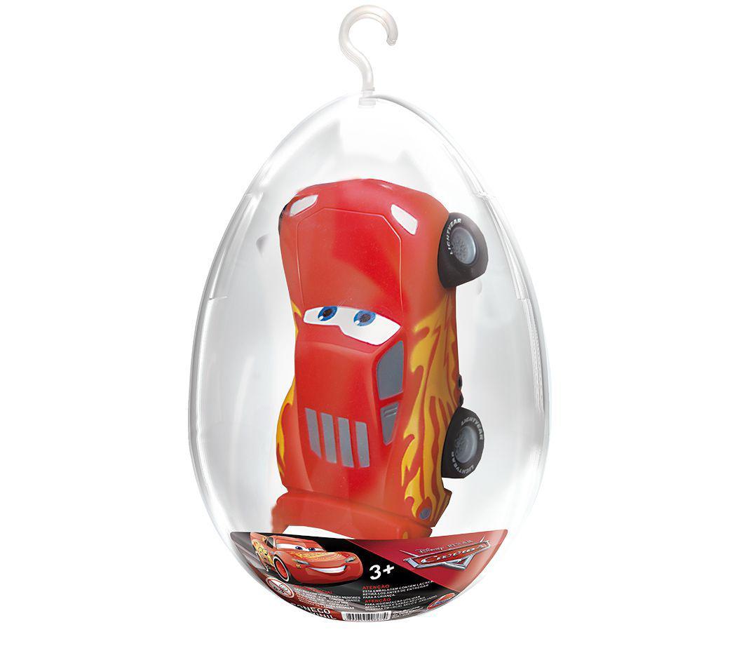 Boneco Mcqueen no Ovo Coleção Carros Disney Lider
