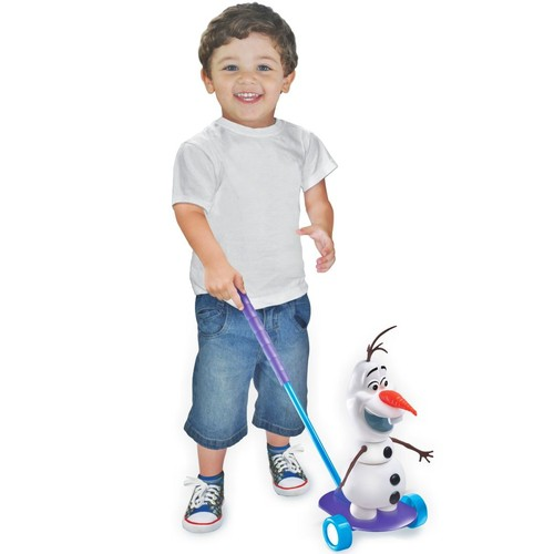 Boneco de Empurrar Olaf
