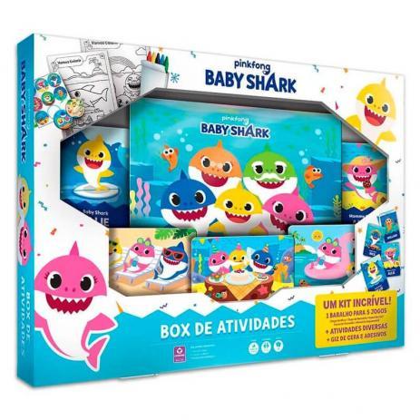 Box de atividades Baby Shark