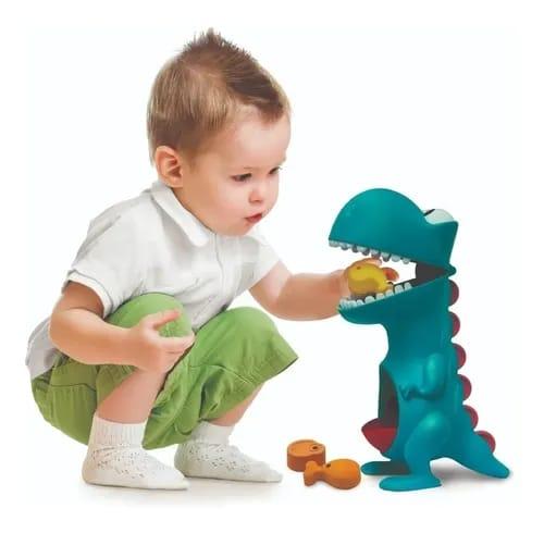 BRINQUEDO INFANTIL DINO PAPA TUDO
