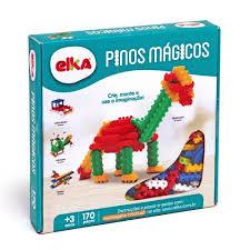 Brinquedo Para Montar Pinos Magicos Elka