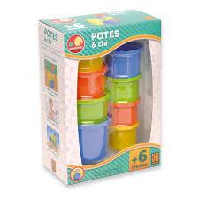 Brinquedo Potes E Cia Primma - Grow