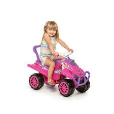 Carrinho de Passeio ou Pedal Cross Turbo Calesita Pink