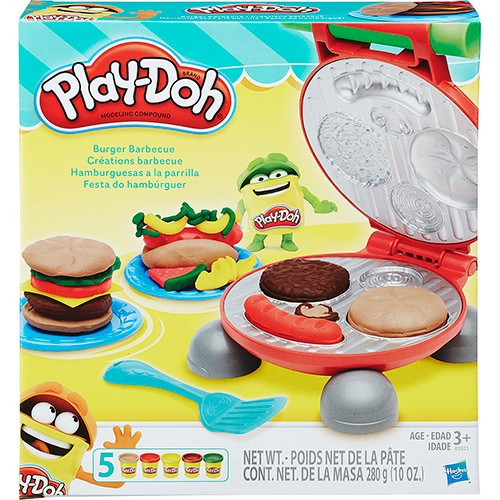 Conjunto Play Doh Festa do Hambúrguer