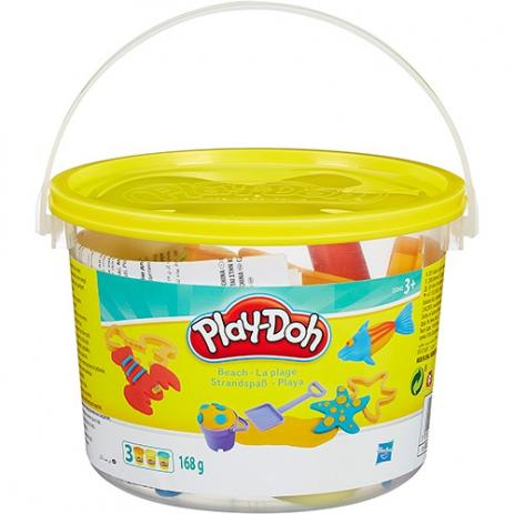 Conjunto Play Doh Mini Balde de Praia