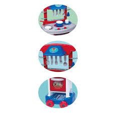 Cozinha Infantil Play Time Menino Acessórios Cotiplás 2421