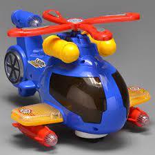 Helicóptero Bate e Volta Com Som