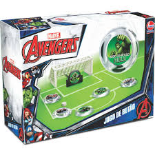 Jogo de Botão Avengers