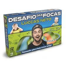 Jogo Desafio das Focas Lucas Neto