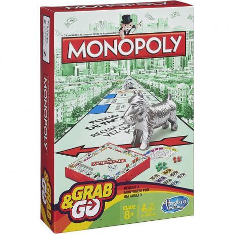 Jogo Monopoli Grab & Go