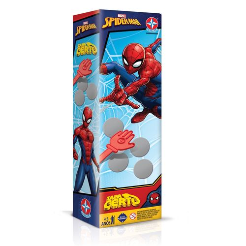 Jogo Tapa certo Spider Man