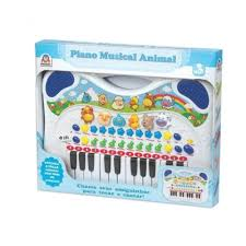 Piano Musical Azul