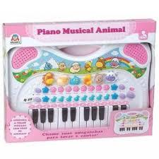 Piano Musical Rosa