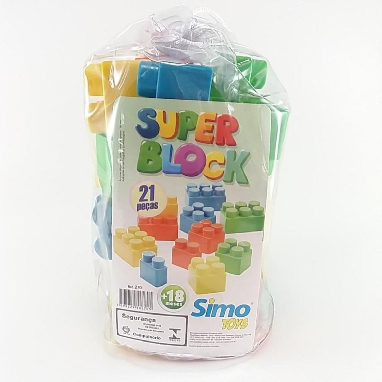 SUPER BLOCK 21 PÇS