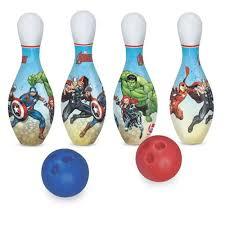 The Avengers Pinos 29cm- Jogo de Boliche  Lider