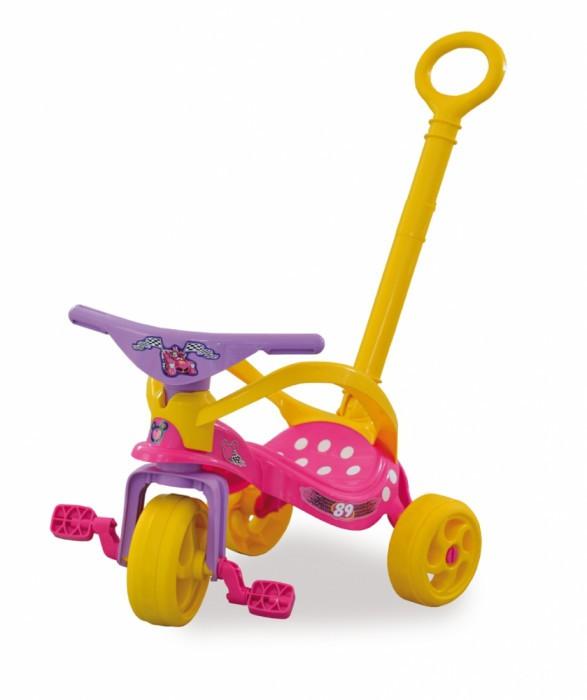 Triciclo Minnie com Empurrador e Protecão