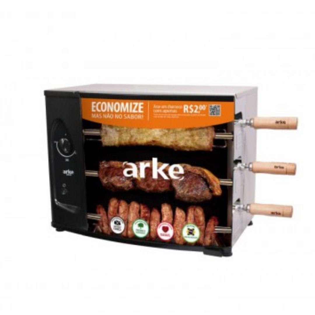 CHURRASQUEIRA ARKE GAS 03 ESP.