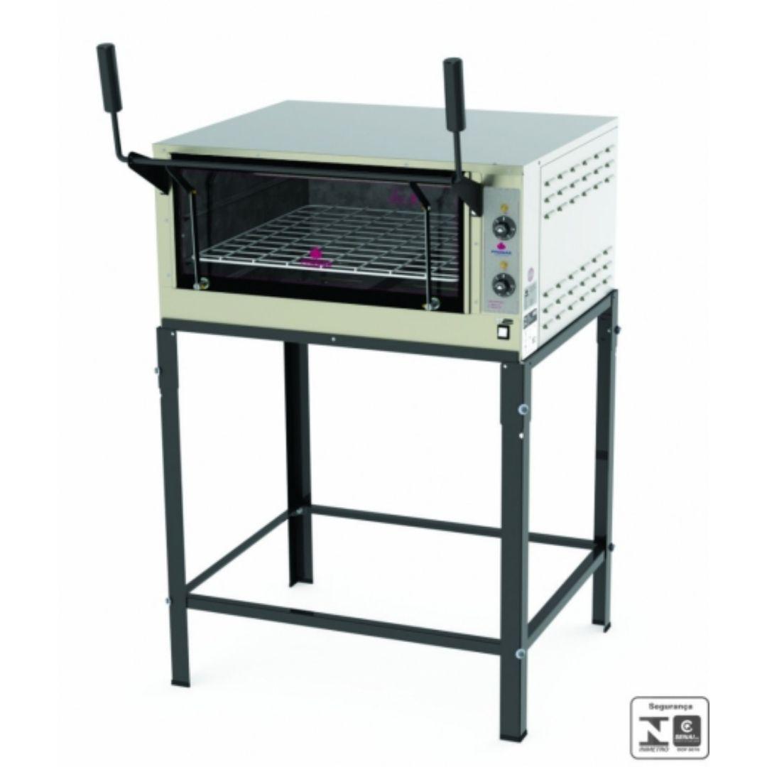 FORNO PROGAS REFRATARIO ELETRICO 68x65 INOX 220v