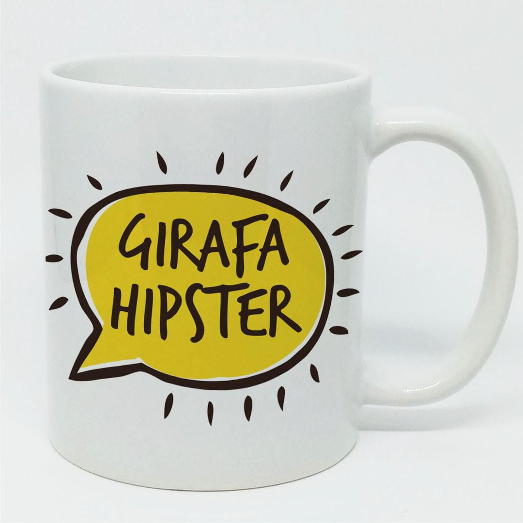 Caneca Girafa Hipster