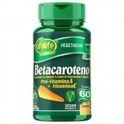 Betacaroteno 500 Mg - 60 Cápsulas - UNILIFE