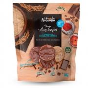 Biscoito de Arroz com Cobertura de Chocolate Amargo Zero Açúcar 60g - Naturatta