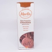 Biscoito Recheado Chocolate 100g - Marilis