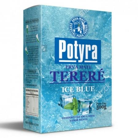 Erva Mate para Terere sabor Ice Blue 500g Potyra
