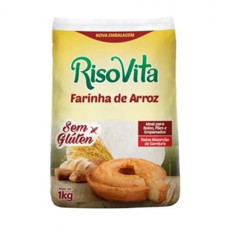 Farinha de Arroz S/GLUT 1 KG - RISOVITA
