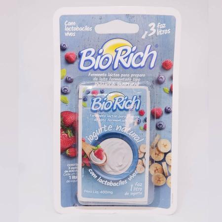 Fermento Bio Rich Com 3 Envelopes