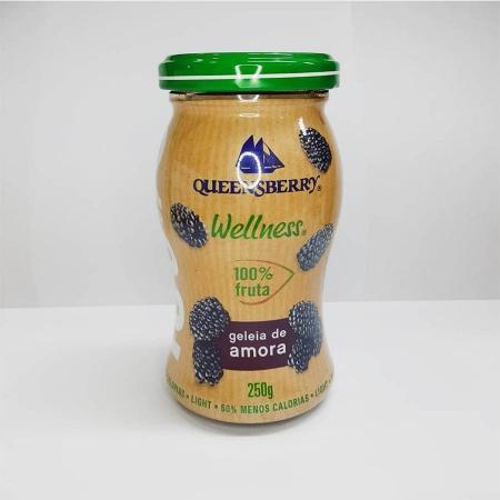 Geléia de Amora 100% Fruit (Zero Açúcar) 250g - Queensberry