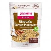 Granola Integral Cereais Maltados 300g - Jasmine