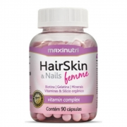 HairSkin & Nails Femme 90 Cápsulas - MAXNUTRI